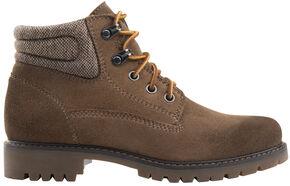 Eastland Women's Khaki Suede Edith Alpine Boots , Tan, hi-res