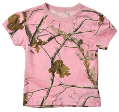 Infant Girls' Pink Realtree Tee, , hi-res