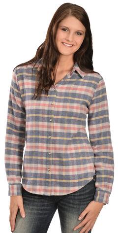 White Crow Women's Harvest Moon Plaid Flannel Shirt, , hi-res