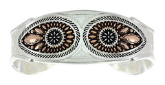 Montana Silversmiths Sunset Prairie Clover Cuff Bracelet   , , hi-res