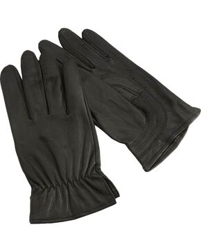 HD Xtreme Leather Gloves, Black, hi-res