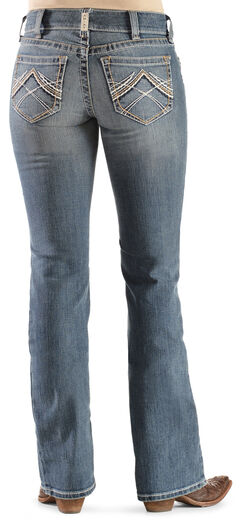 Ariat Women's Rainstorm Real Riding Jeans, , hi-res