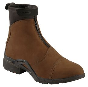 Tony Lama Stratford Waterproof Zip-Up Boots, Tan, hi-res
