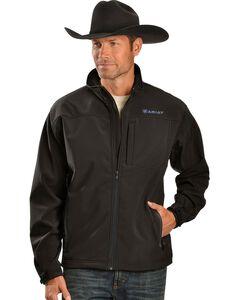 Ariat Men's Vernon Black Softshell Jacket, , hi-res