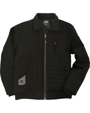 Wrangler Men's RIGGS Workwear Tradesman Jacket - Big & Tall, Black, hi-res