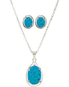 Montana Silversmiths Women's Mountain Lake Jewelry Set , , hi-res