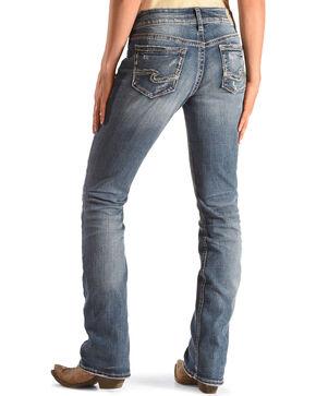 Silver Women's Indigo Suki Slim Boot Jeans - Boot Cut, Indigo, hi-res