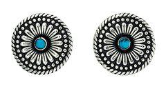 Montana Silversmiths Desert Mesa Flower Post Earrings, , hi-res