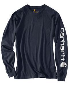 Carhartt Signature Logo Sleeve Knit T-Shirt - Big & Tall, , hi-res