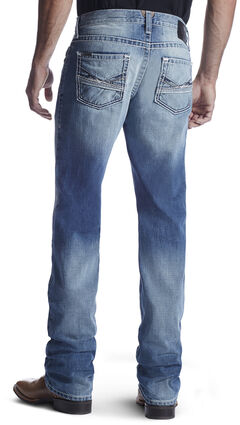 Ariat Men's M5 Lefty Ashwood Straight Leg Jeans, , hi-res