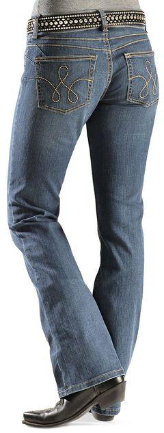 Wrangler Booty Up Rope Stitched Back Pocket Jeans, , hi-res