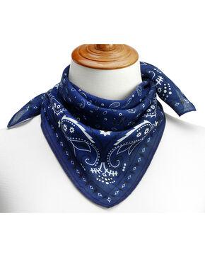 Big Sky Carvers Women's Bandana Print Neckerchief , Blue, hi-res