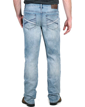 Cody James Men's Smokey Mountain Light Wash Jeans - Boot Cut, Blue, hi-res