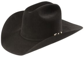 Larry Mahan 20X Pinnacle Fur Felt Western Hat, Black, hi-res