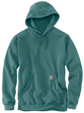 Carhartt Hooded Sweatshirt - Big & Tall, Teal, hi-res