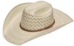 Twister 10X Shantung Maverick Straw Cowboy Hat, , hi-res