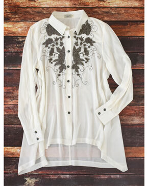 Tasha Polizzi Women's White Addison Tunic , White, hi-res