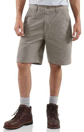 Carhartt Washed Duck Work Shorts, Desert, hi-res