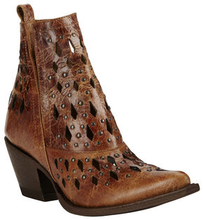 Ariat Women's Tan Chiquita Boots - Pointed Toe, Tan, hi-res