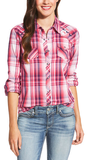 Ariat Women's Multi Rio Snap Shirt, Multi, hi-res