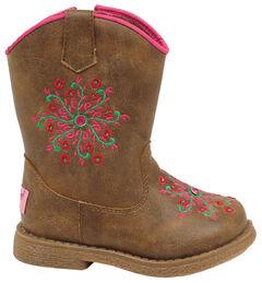 Blazin Roxx Toddler Girls' Lil' Savvy Boots - Round Toe, , hi-res