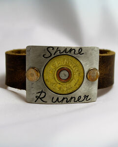 SouthLife Supply Shine Runner Plated Cuff with Traditional Gold Shotshell, , hi-res