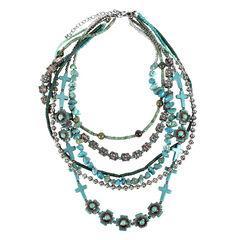 Treska Women's Cowtown 6-Strand Beaded Necklace , , hi-res