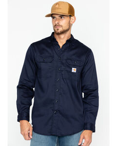 Carhartt Flame Resistant Dry Twill Work Shirt - Big & Tall, , hi-res