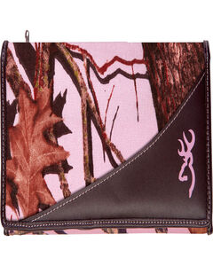 Browning Women's Pink Camouflage Wallet , , hi-res