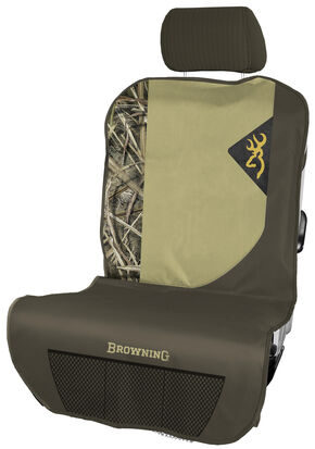 Browning Camouflage Passenger Seat Cover , Camouflage, hi-res