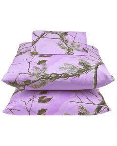 Realtree Lavender Camo Full Sheet Set, , hi-res