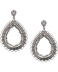 Shyanne Women's Large Filigree Teardrop Earrings, , hi-res
