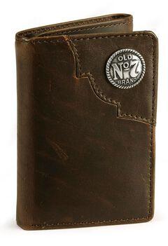 Jack Daniel's Tri-Fold Leather Wallet, , hi-res