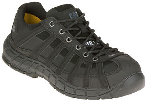 Caterpillar Women's Switch Steel Toe Work Shoes, Black, hi-res