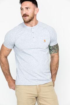 Carhartt Force Cotton Henley Shirt, , hi-res