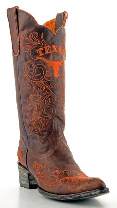 Gameday University of Texas Cowgirl Boots - Pointed Toe, , hi-res
