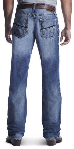 Ariat Men's M4 Shotwell Vegas Bootcut Jeans , Med Blue, hi-res