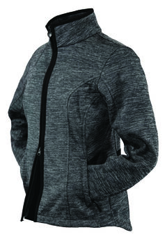 Outback Trading Company Women's Heather Softshell Jacket, , hi-res