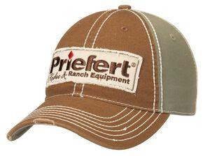 Priefert Logo Patch Cap, Olive, hi-res