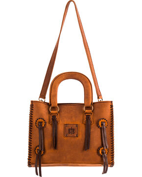 STS Ranchwear Small Chaps Satchel , Brown, hi-res