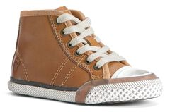 Frye Boys' Greene Mid-Lace Shoes, , hi-res