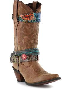 Durango Women's Crush Accessorized Western Fashion Boots, , hi-res