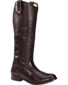 Frye Women's Melissa Button Riding Boots - Wide Calf, , hi-res