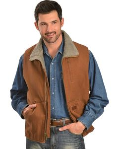 Gibson Trading Co. Faux Sherpa Vest, , hi-res