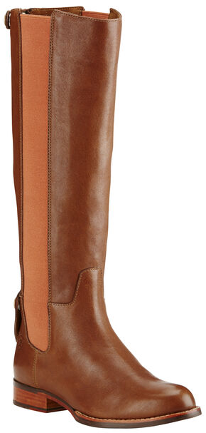 Ariat Women's Pumpkin Spice Waverly Tall Boots - Round Toe , Tan, hi-res