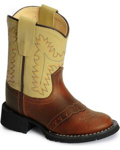 Old West Toddlers' Comfort Western Boots, , hi-res