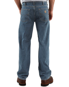 Carhartt Traditional Slim Fit Five Pocket Jeans, Dark Denim, hi-res