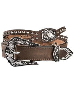 Nocona Fancy Cutout Belt, , hi-res