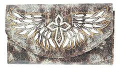 Blazin Roxx Cross with Wings Wallet, , hi-res