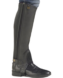 Ovation Kids' EquiStretch II Half Chaps, , hi-res
